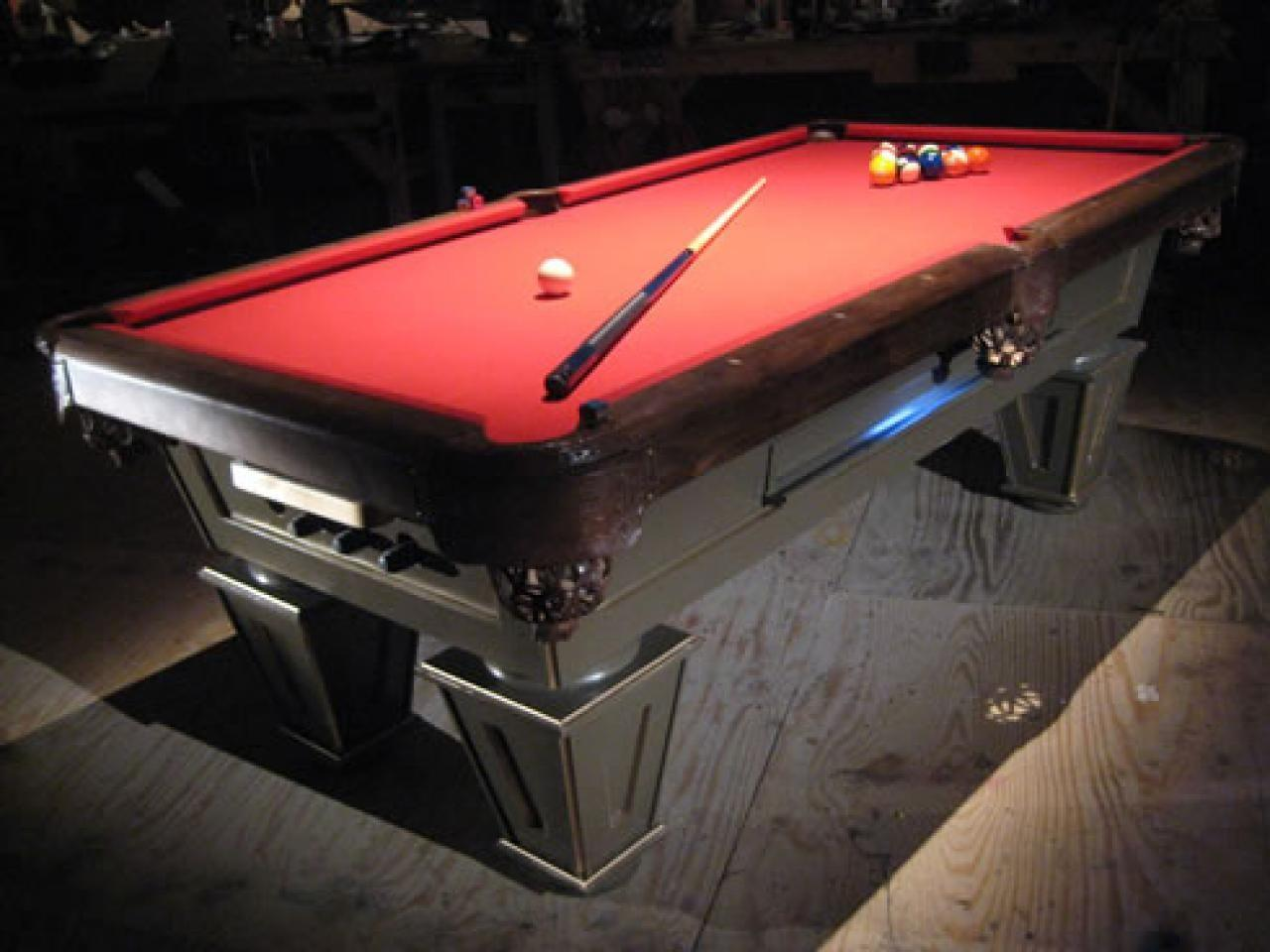 Build Pool Table