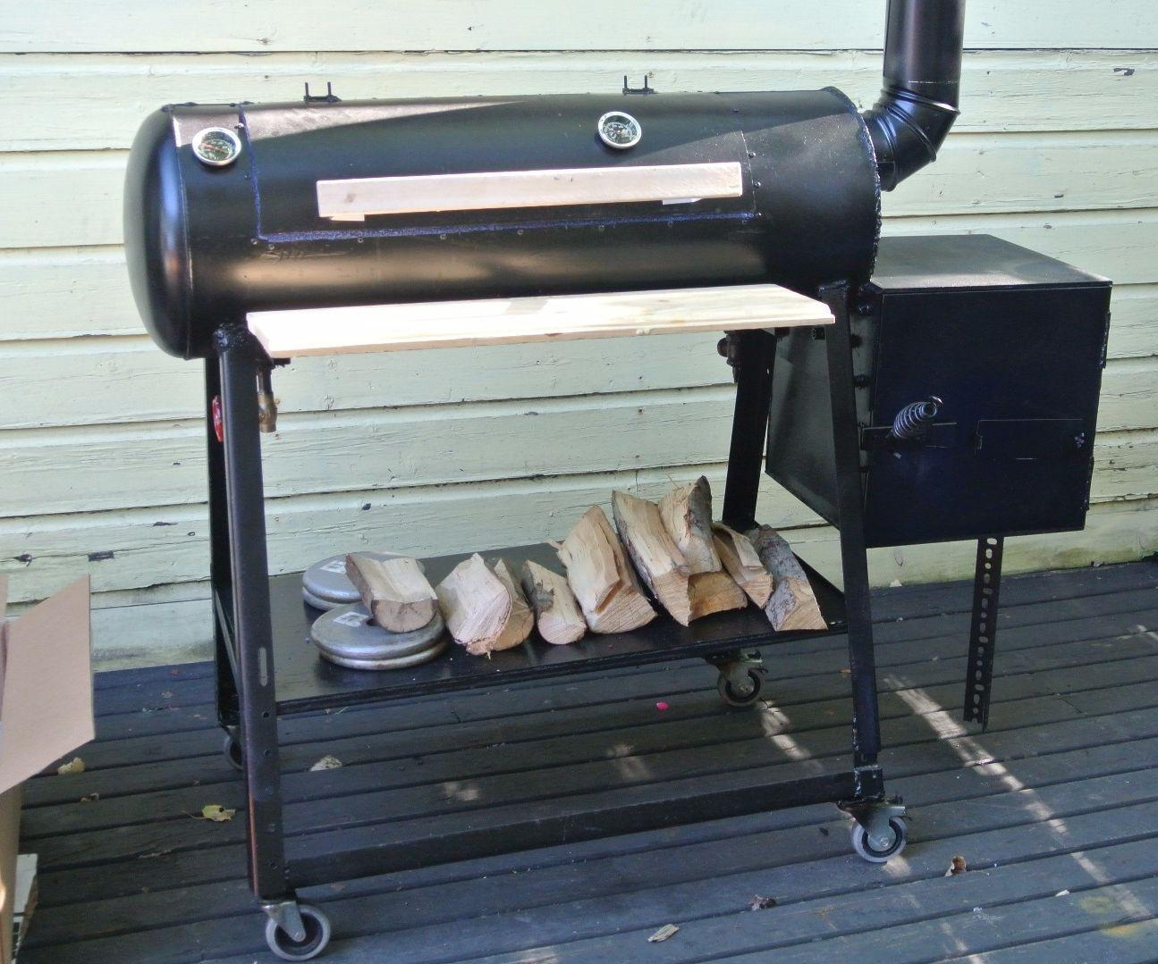 Build Reverse Flow Offset Smoker