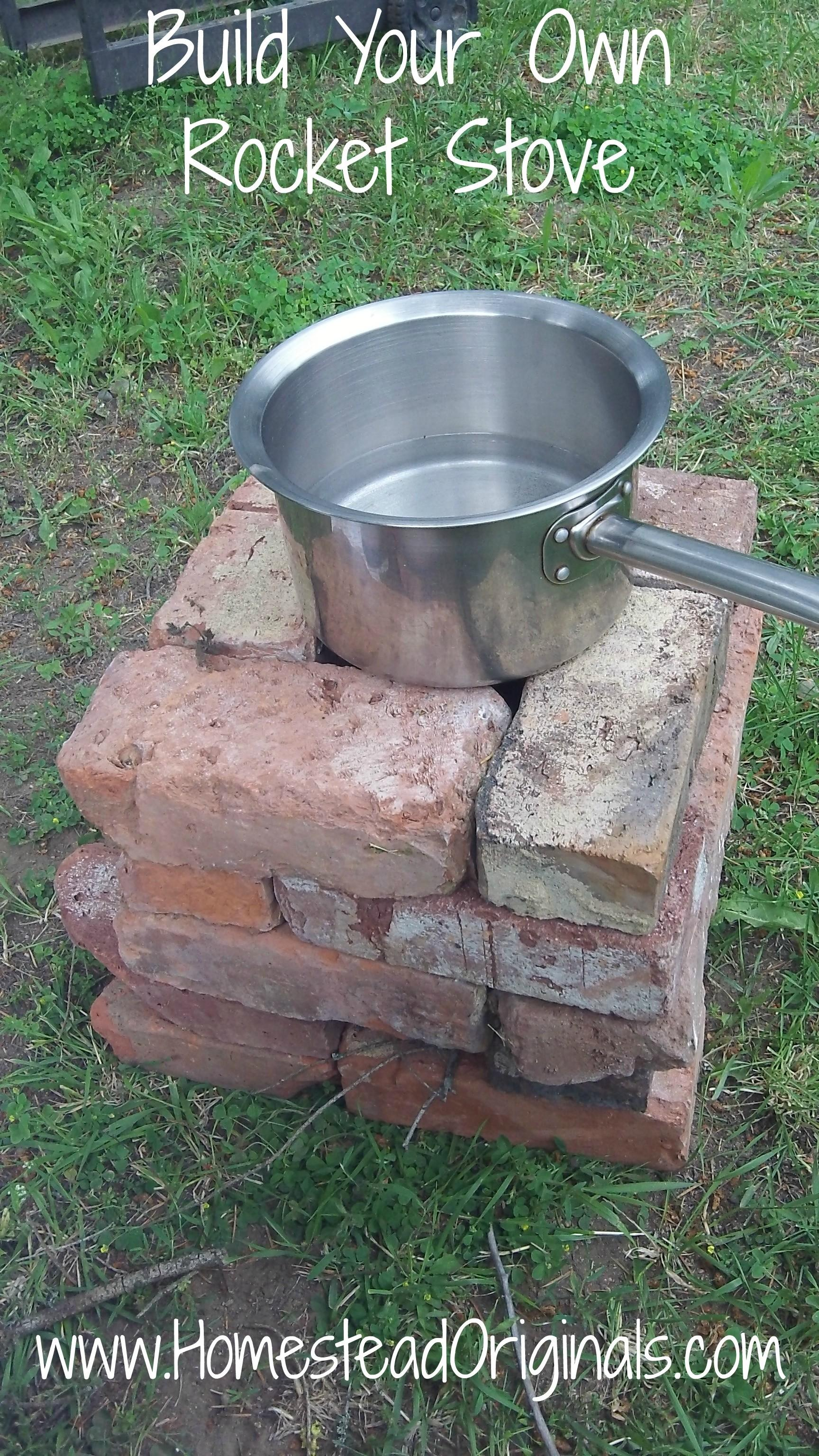 Build Simple Rocket Stove