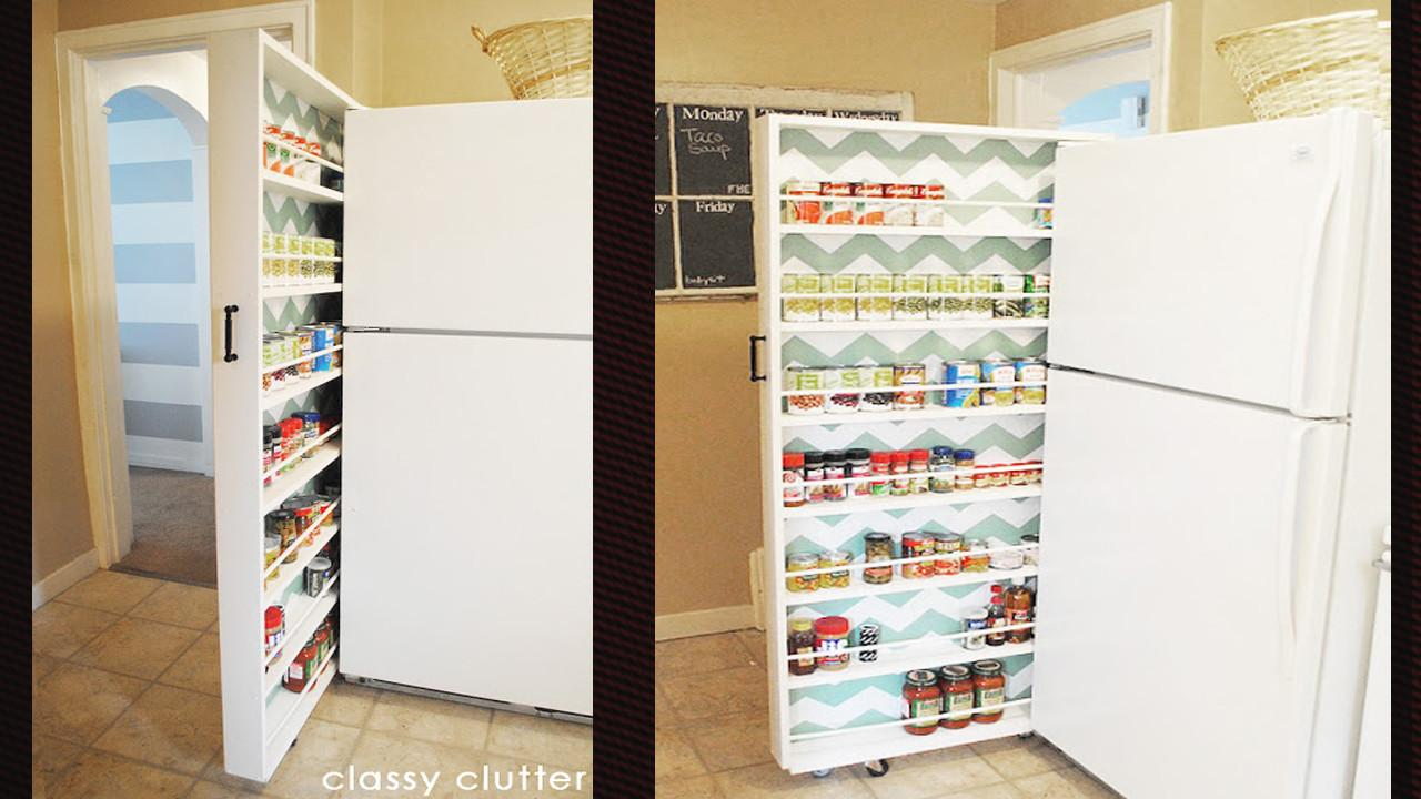 Build Space Saving Roll Out Pantry Lifehacker Australia