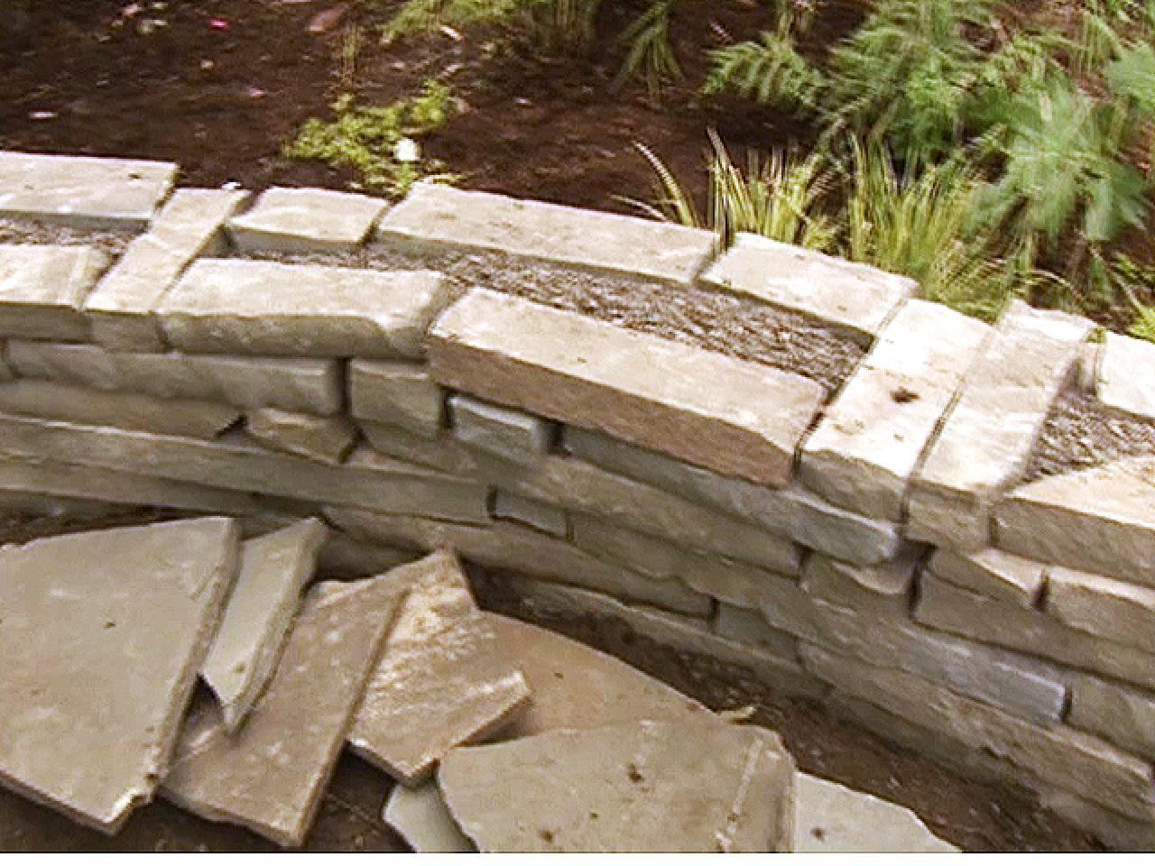 Build Stone Accent Wall