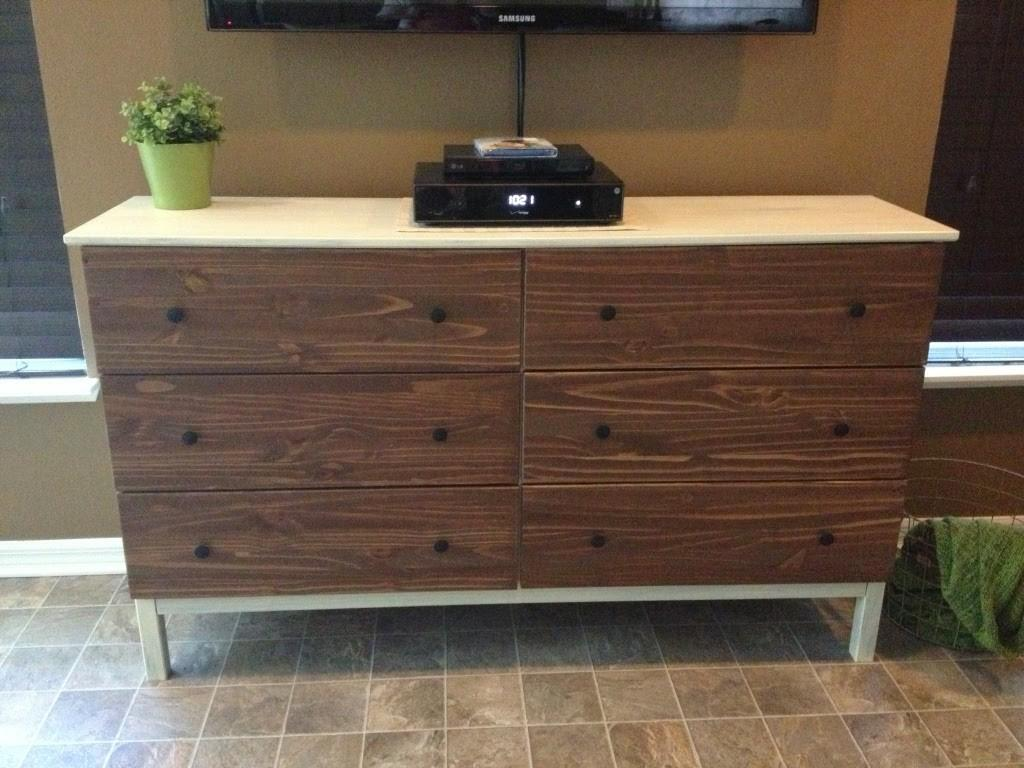 Build Tarva Drawer Dresser Made Cardboard Home
