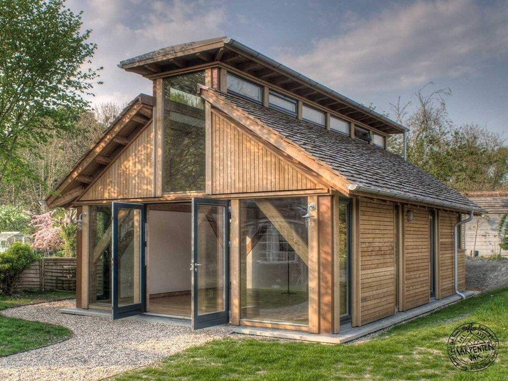 Build Timber Frame House