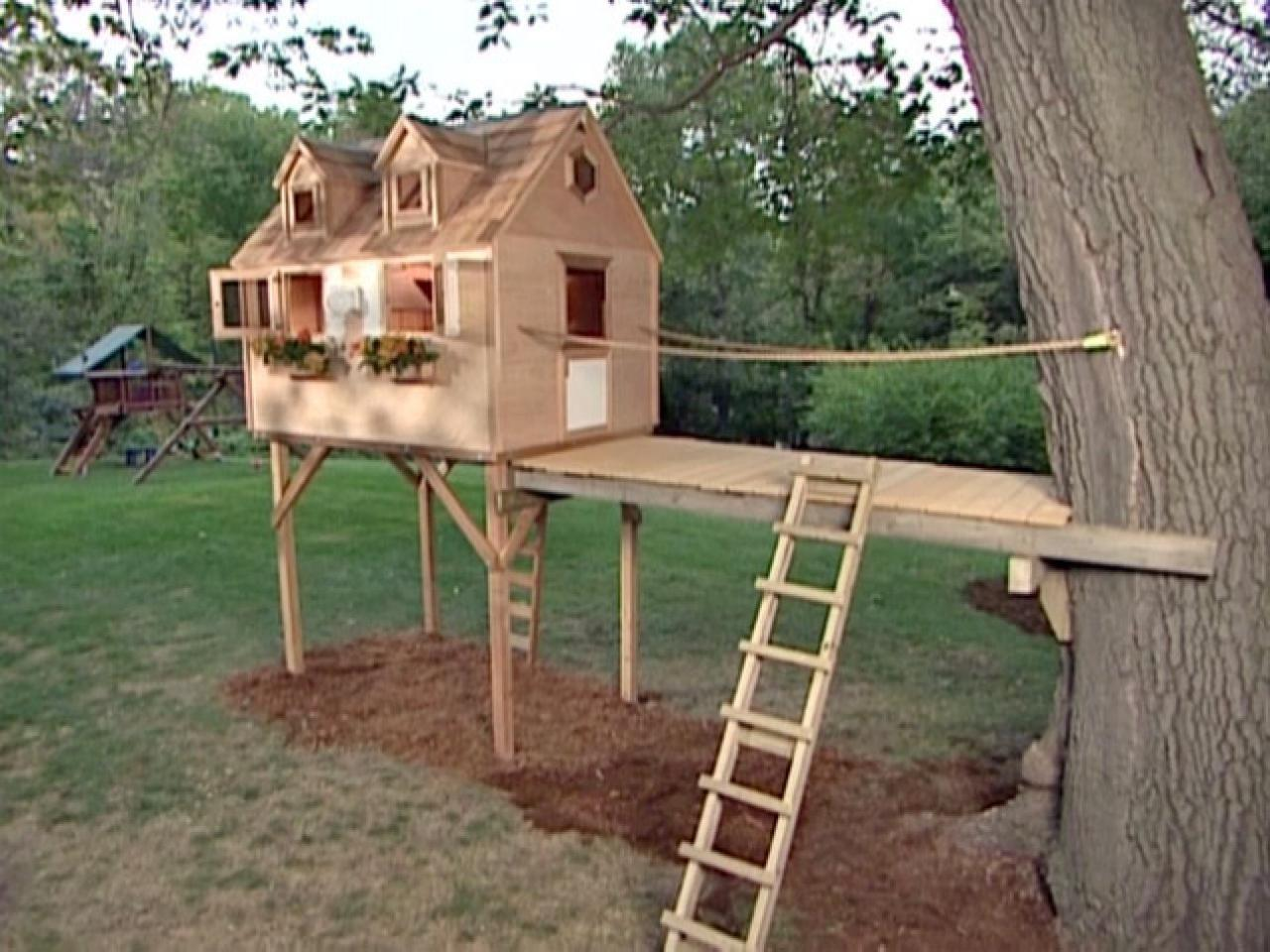 Build Tree Fort Tos Diy