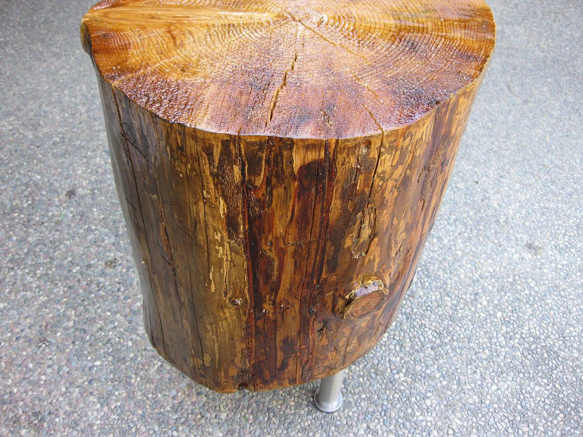 Build Tree Stump Table Home Decorations