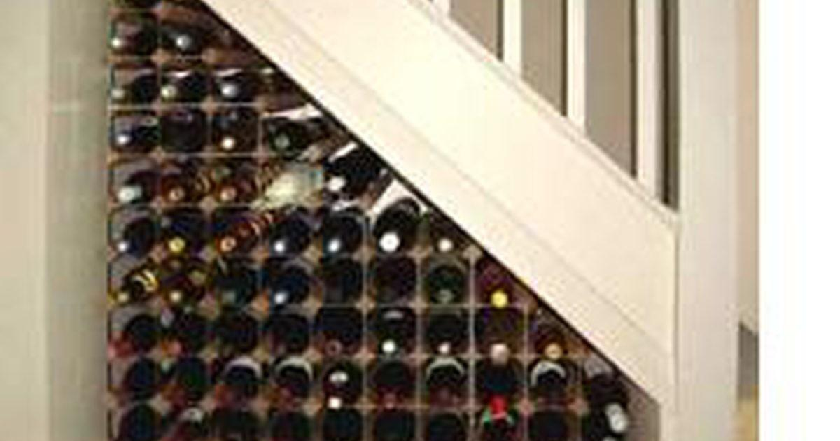 Build Under Stair Wine Rack Ehow