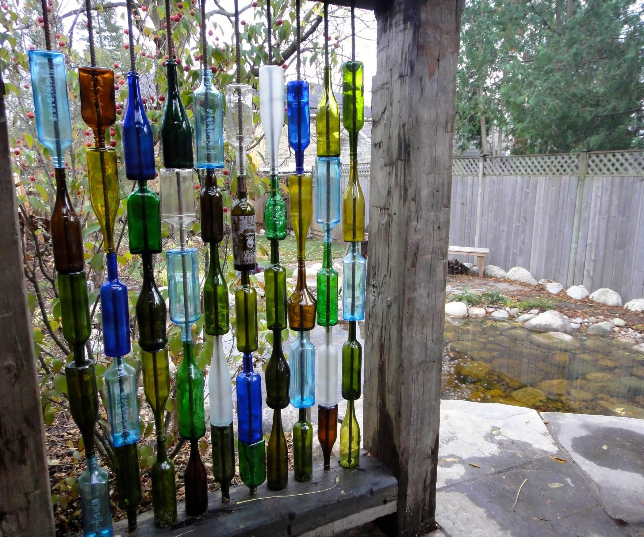 Build Wall Recycled Bottles All