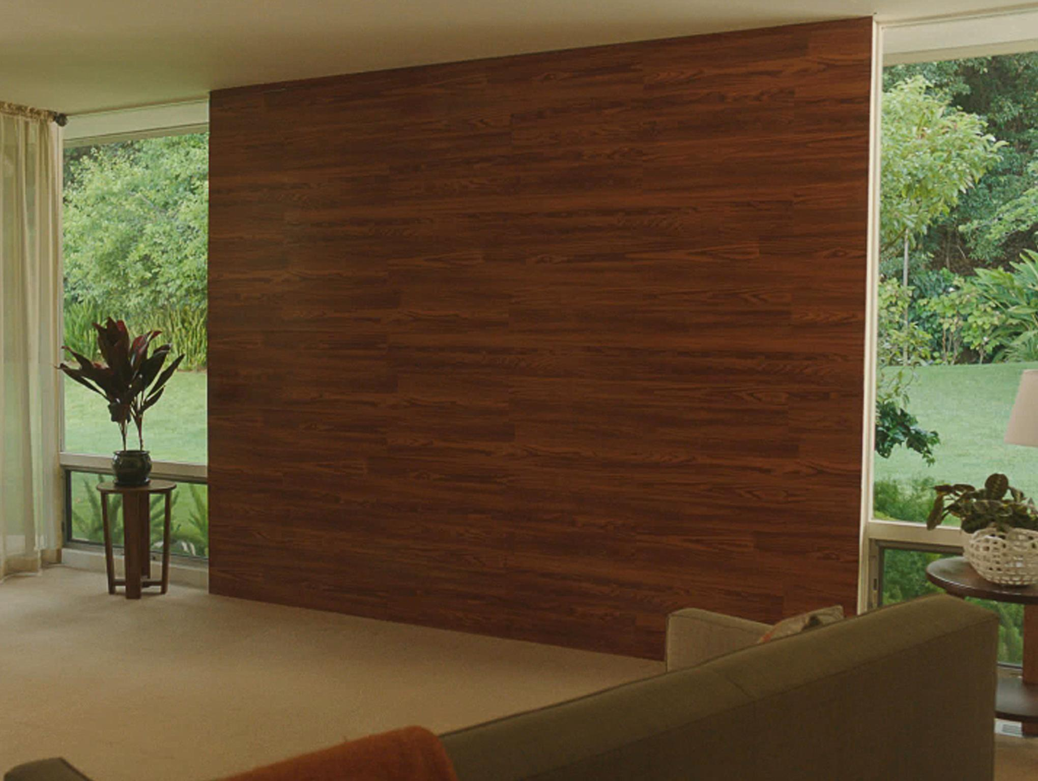 Build Wall Using Laminate Flooring Home