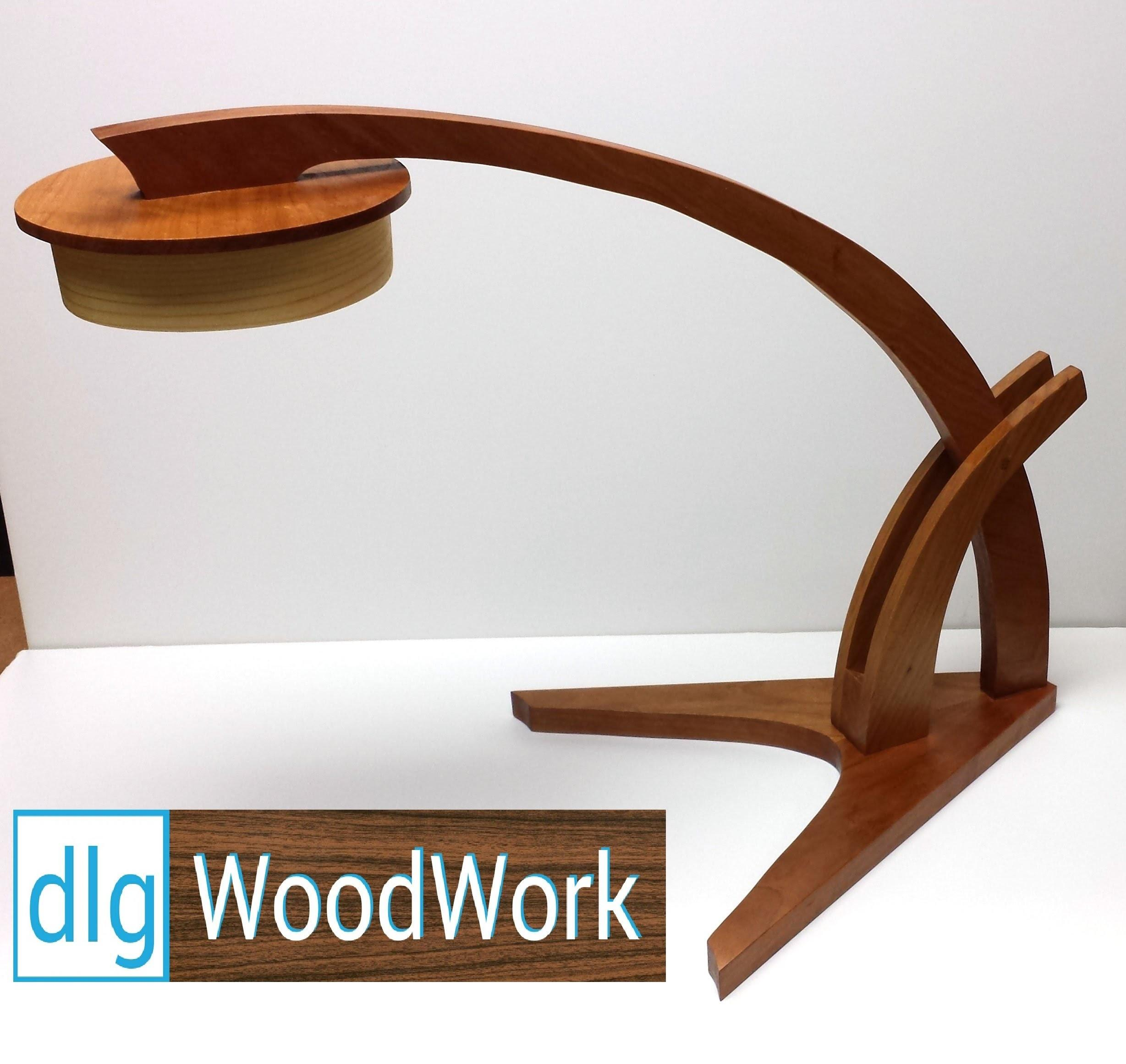 Build Wood Magazine Prairie Grass Desk Lamp