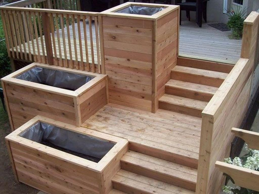 Build Wooden Planter Box Make
