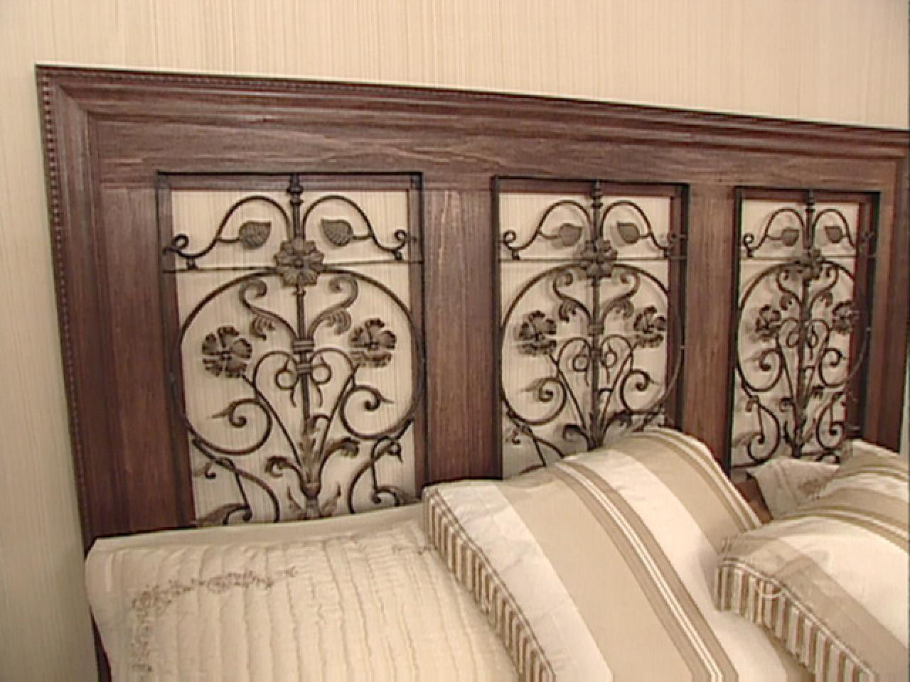 Build Wrought Iron Panel Headboard