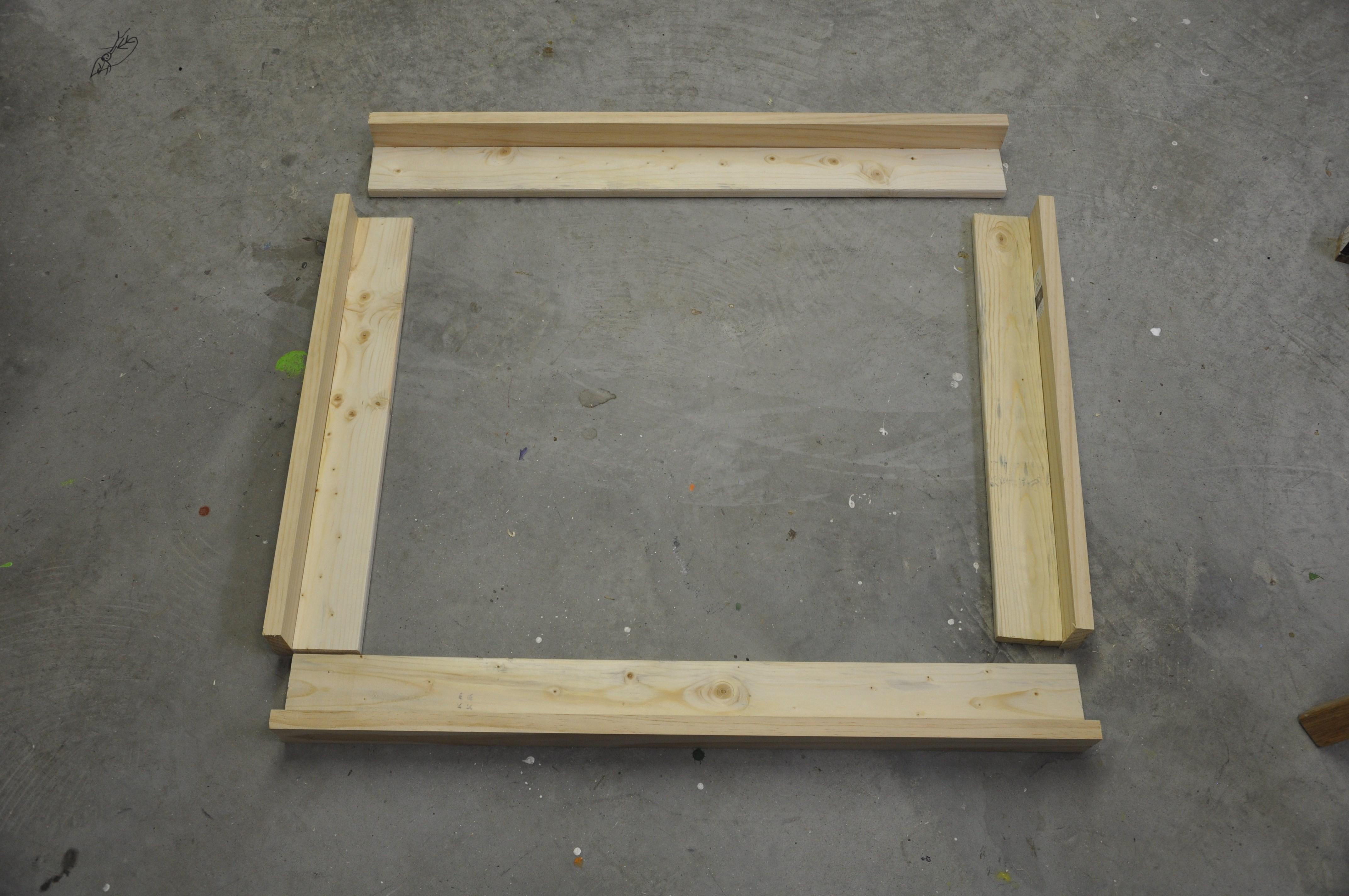 Build Your Own Float Frame Lesson Learned