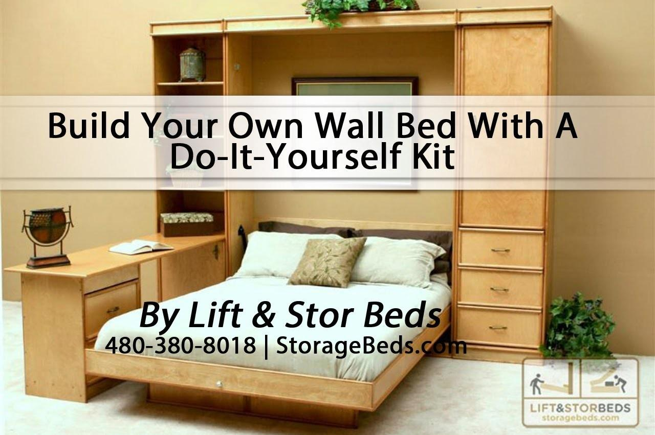 Build Your Own Wall Bed Yourself Kit