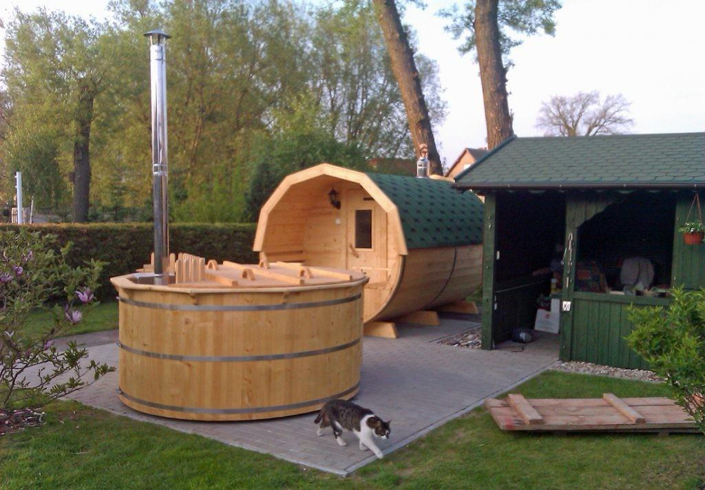Build Your Own Wood Fired Hot Tub