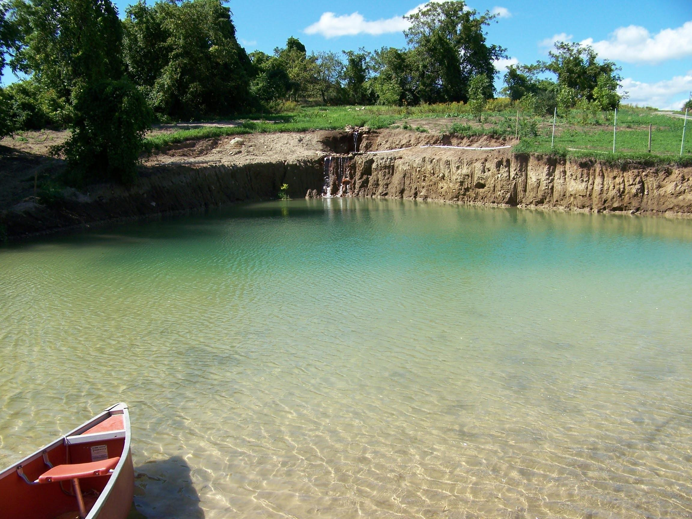 Building Your Own Private Beach Swimming Pond June12