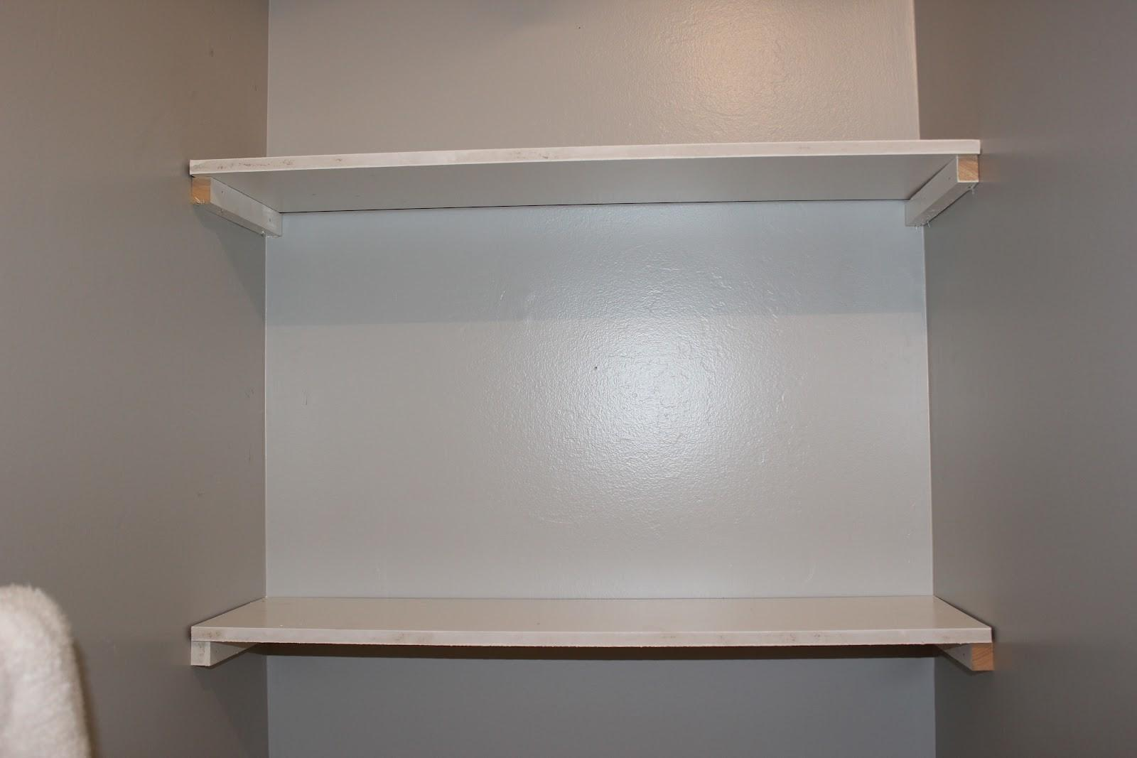 Built Bathroom Shelving Diy Less