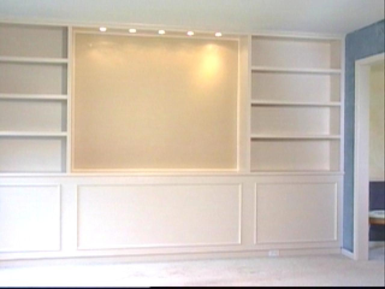 Built Bookcases