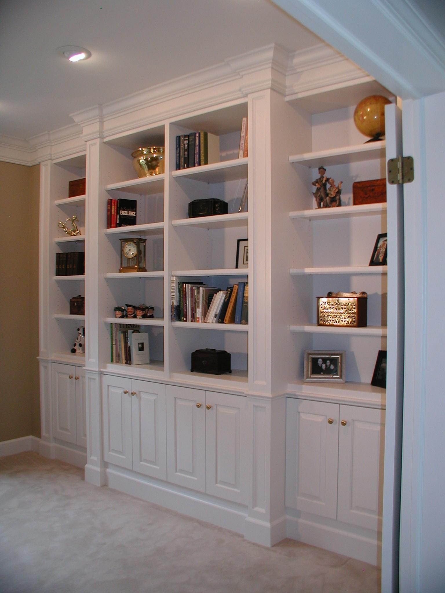 Built Bookcases Myideasbedroom