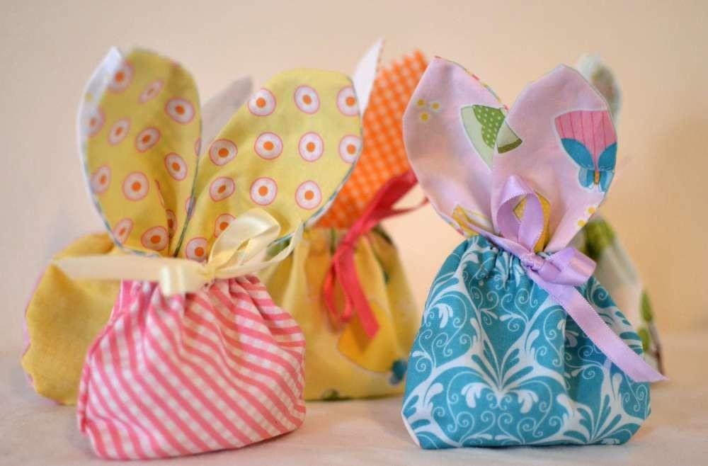 Bunny Treat Bags Sewing Project Simple Projects