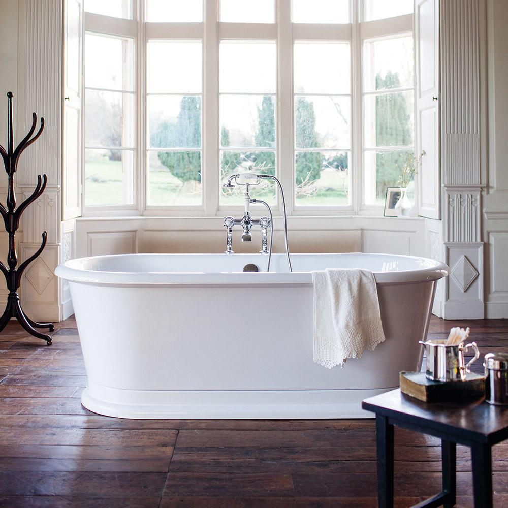 Burlington London 1800mm Round Soaking Tub E18