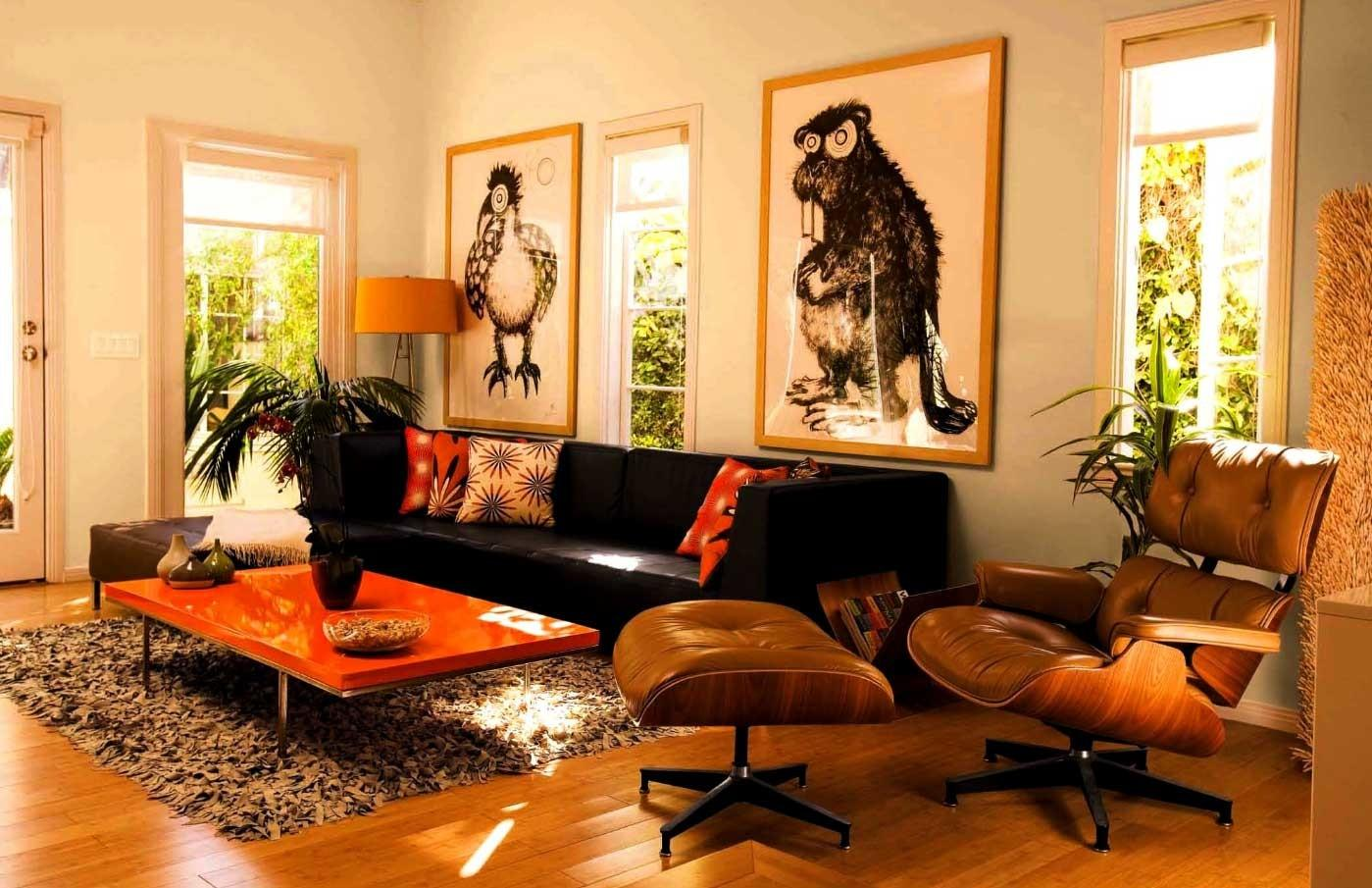 Refreshing Orange Black Decorating Ideas That Abound With Luxury Photographs Decoratorist