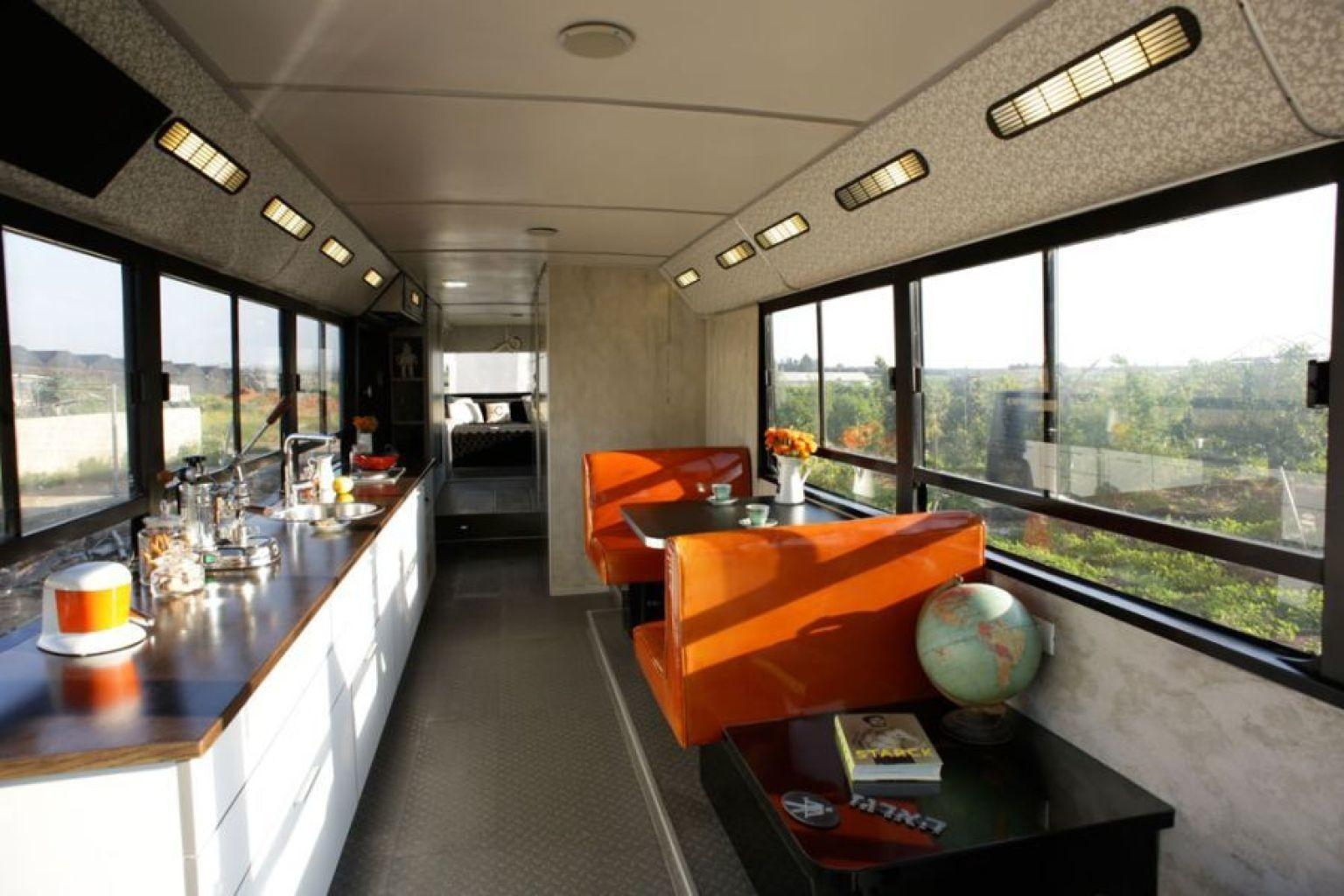 Bus Converted Into Home Sharon Israel Totally