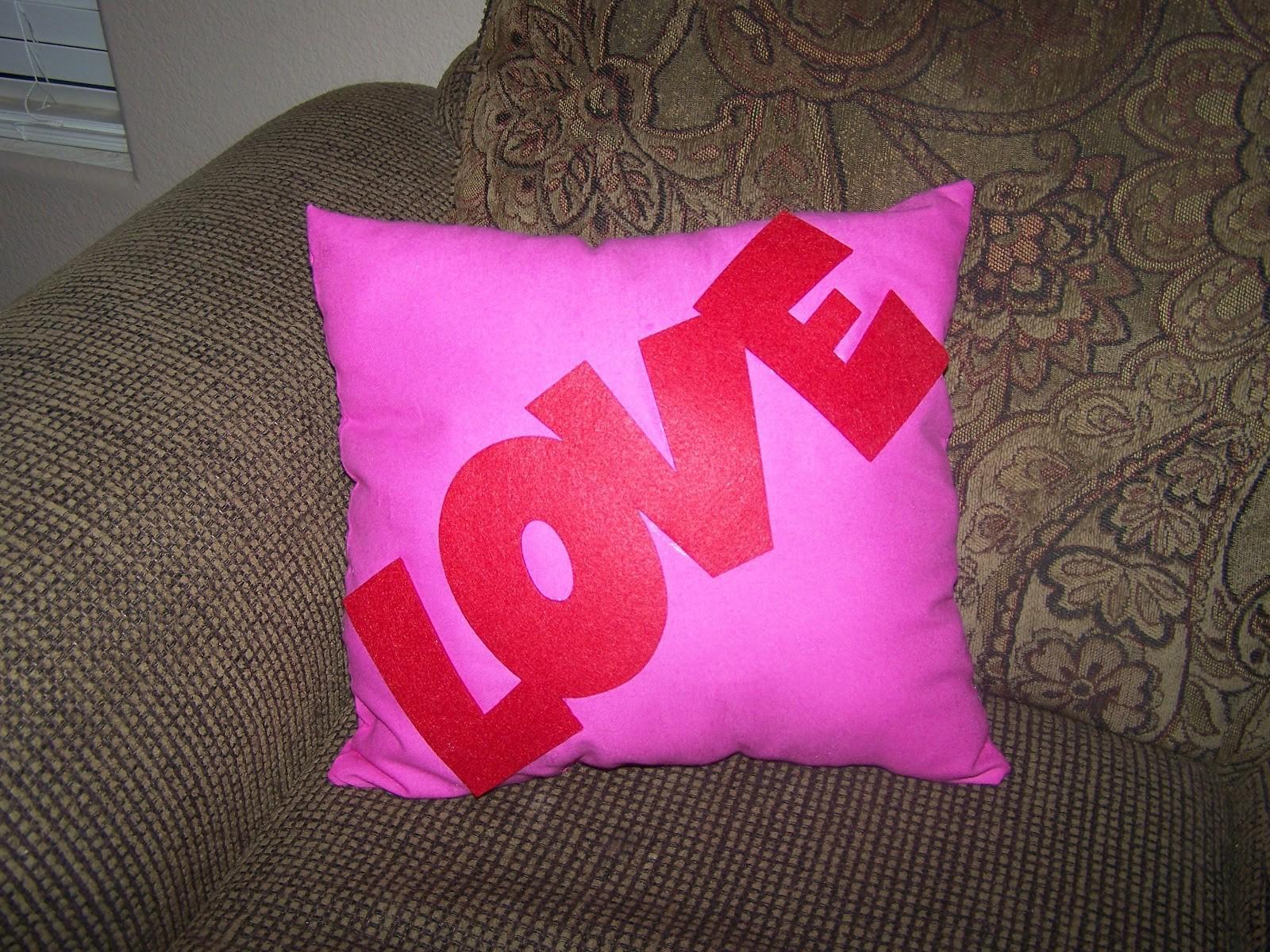 Busy Broad Diy Valentine Day Pillow