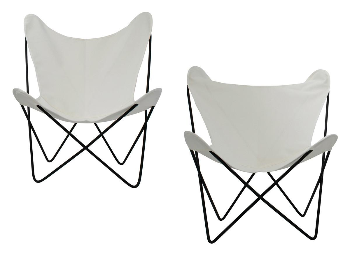 Butterfly Chairs Boho African Mudcloth Chair