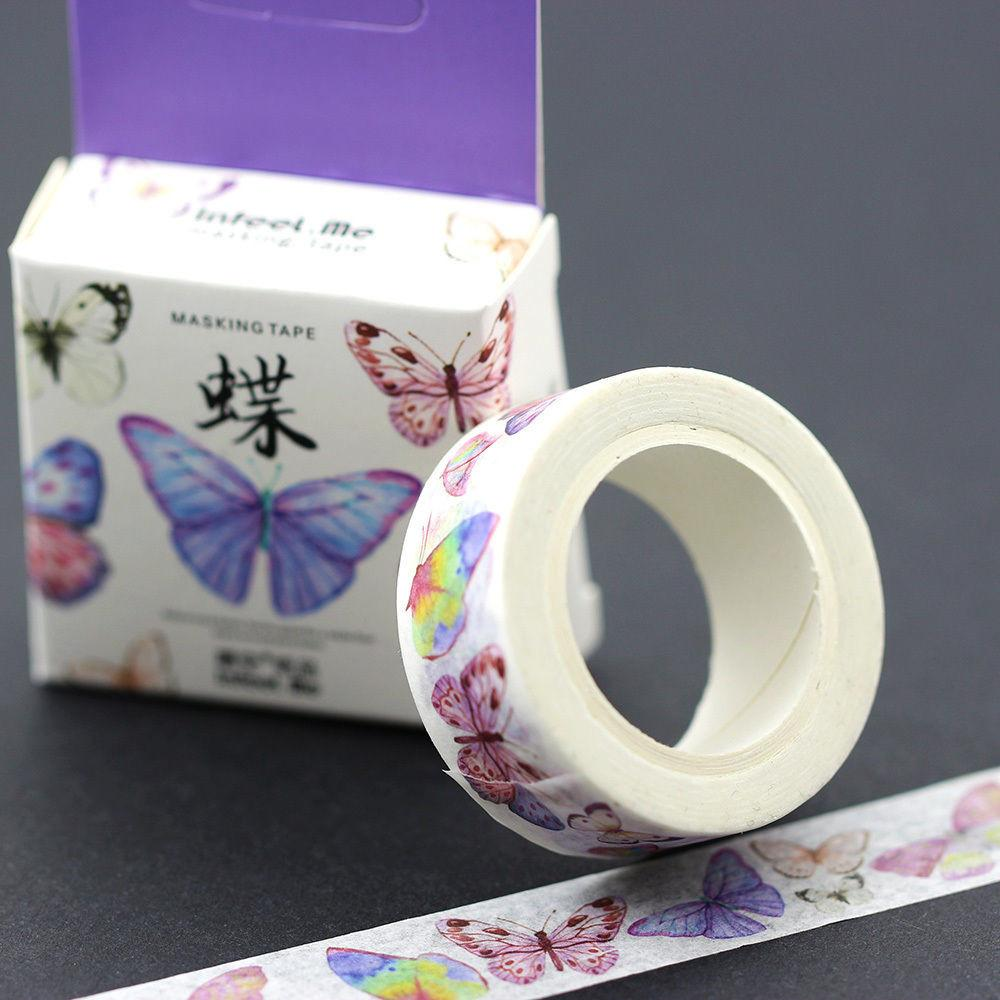 Butterfly Masking Tape Diy Paper Adhesive Craft Washi