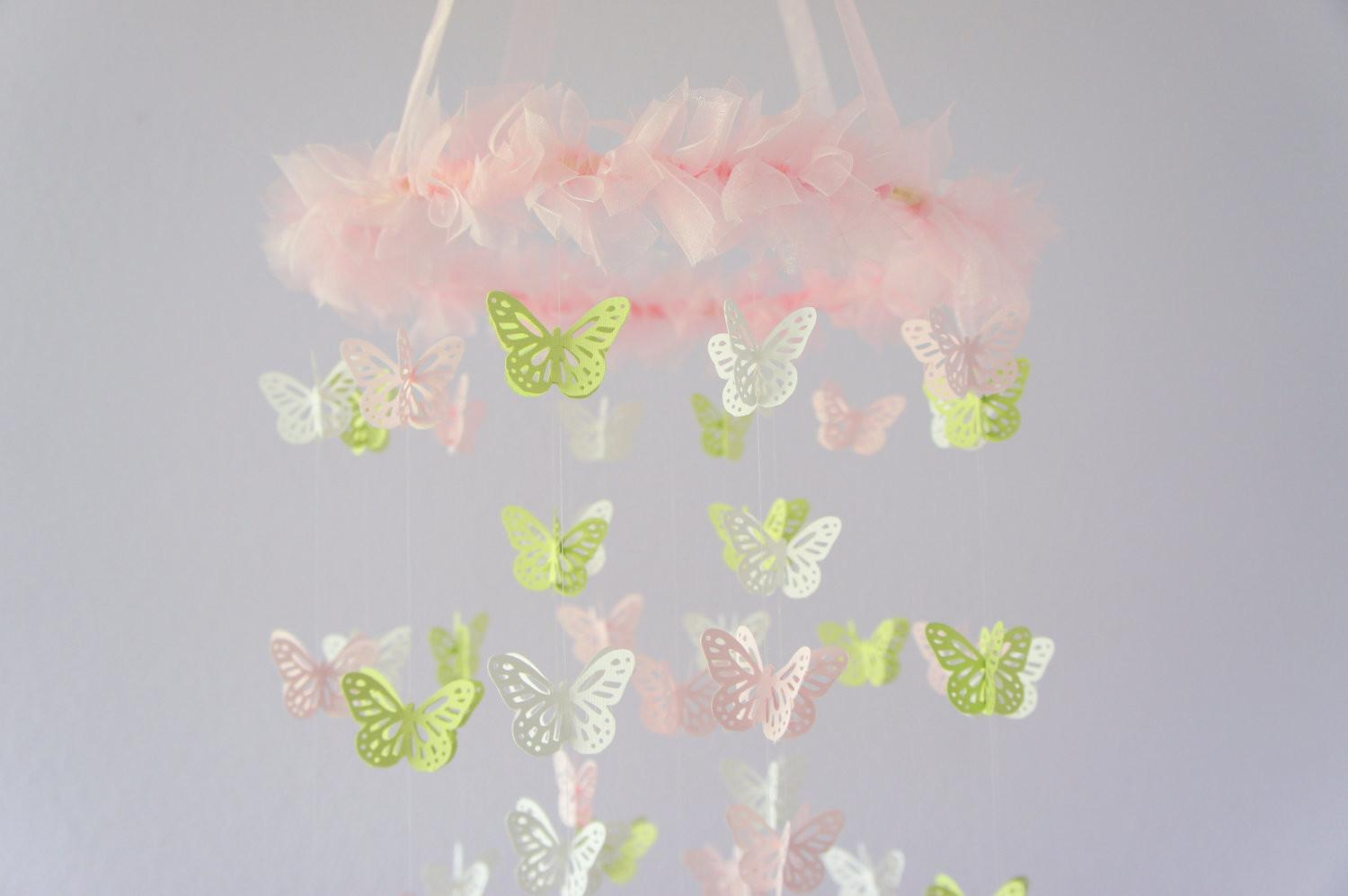 Butterfly Mobile Baby Room Ideas