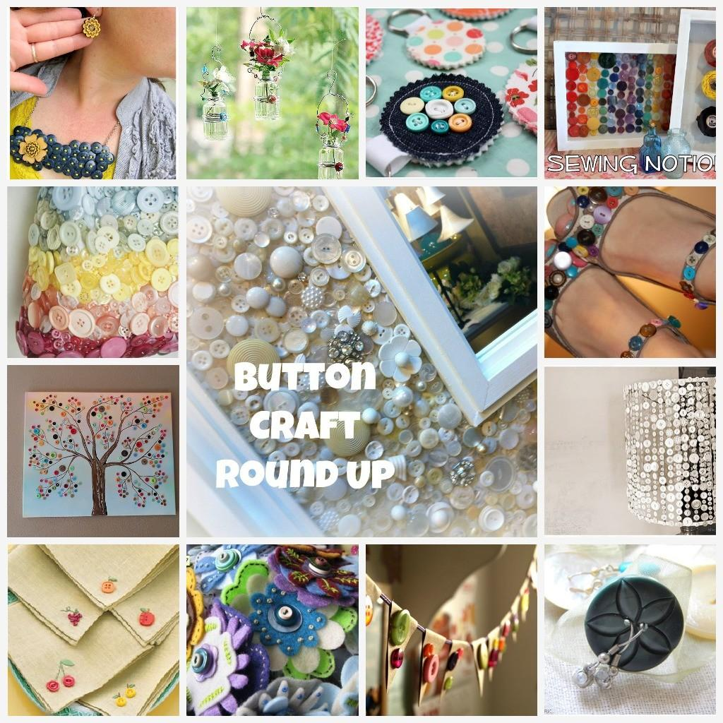Button Craft Round Projects