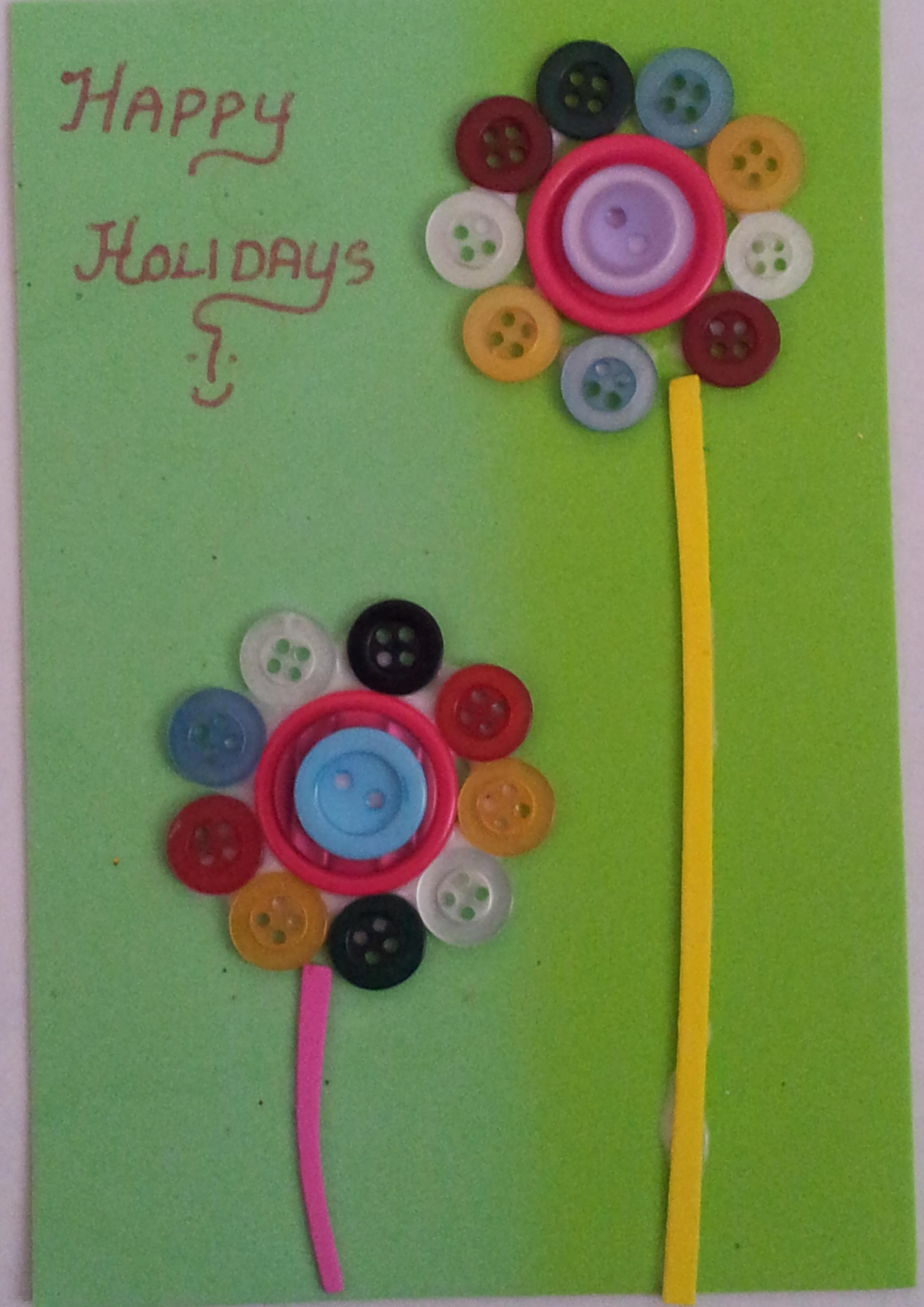 Button Crafts Between Littles
