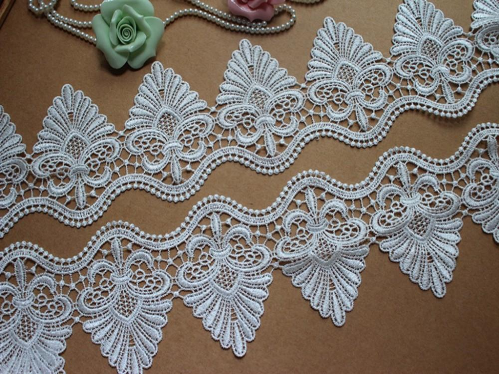 Buy 10cm Wide 3yard Lot Water Soluble Embroidery Cotton