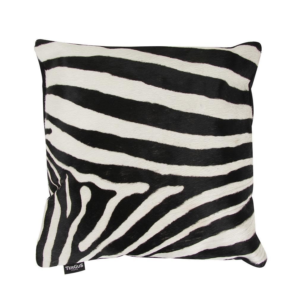 Buy Amara Zebra Print Cowhide Pillow
