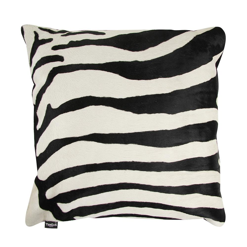 Buy Amara Zebra Printed Cowhide Pillow