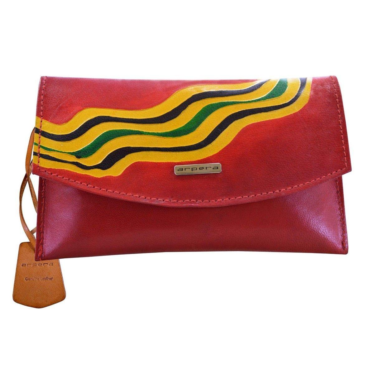 Buy Arpera Genuine Leather Clutch 88a Red