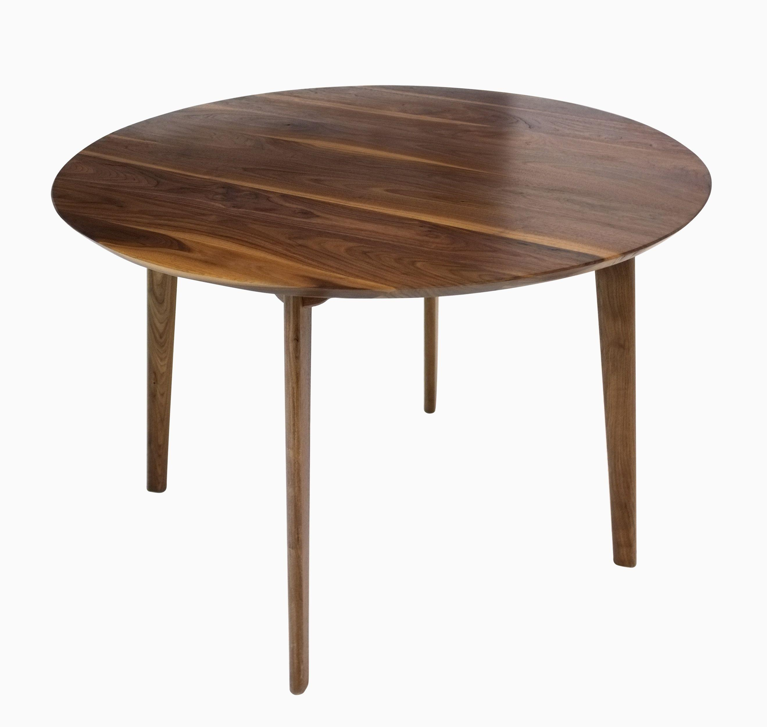 Buy Custom Made Isabelle Mid Century Modern Solid Round