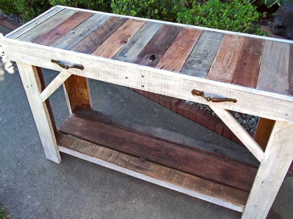 Buy Handmade Rustic Reclaimed Pallet Table Made