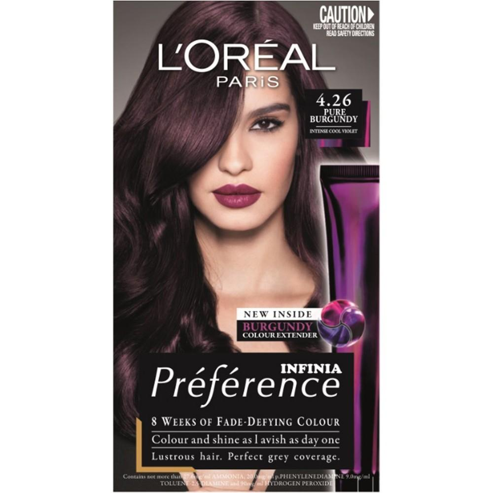 Buy Preference Pure Burgundy Oreal Paris