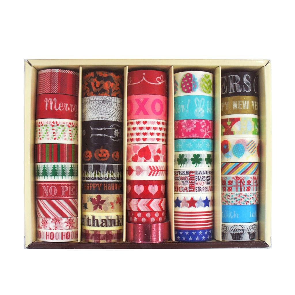 Buy Seasonal Washi Tape Box Recollections Michaels