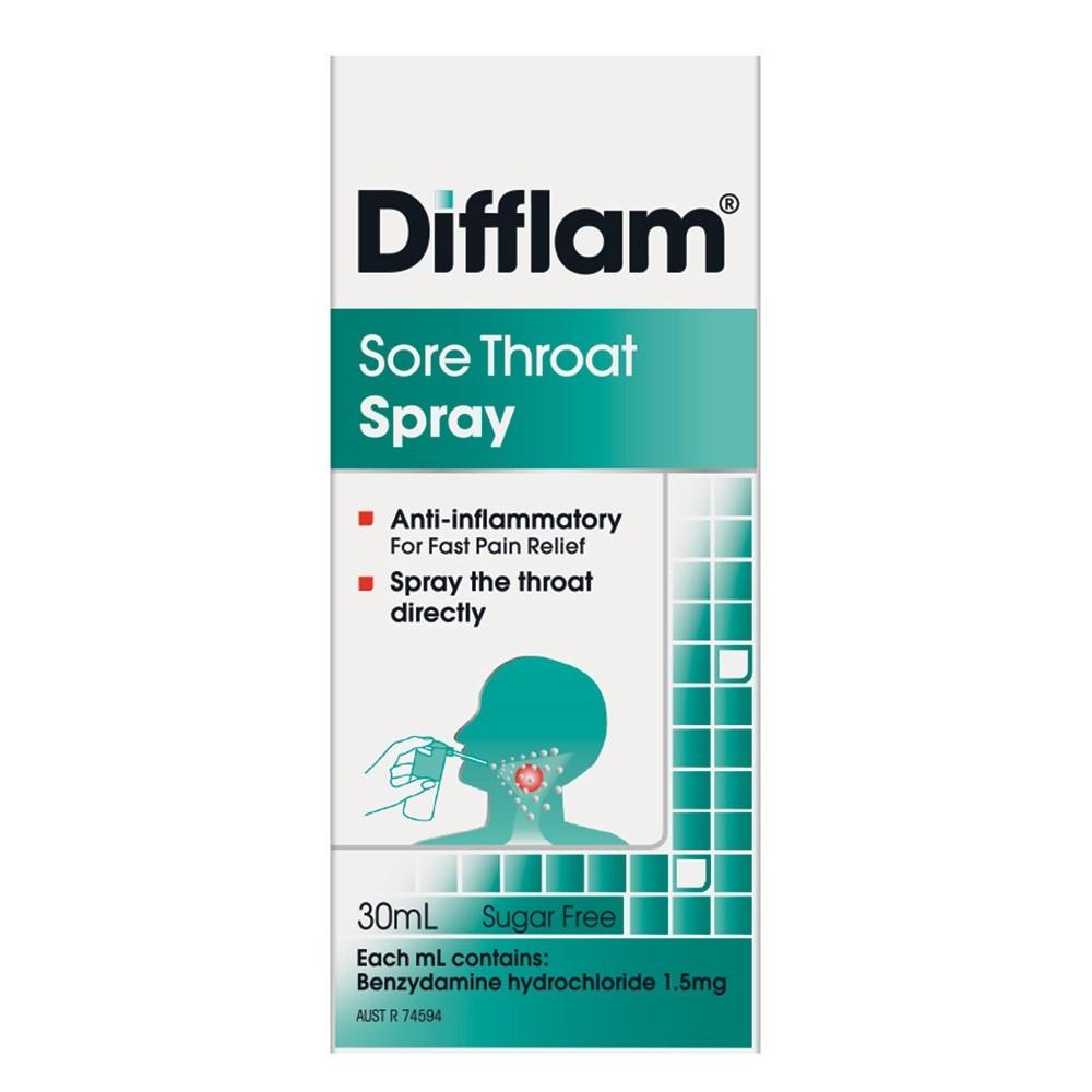 Buy Sore Throat Spray Difflam Priceline