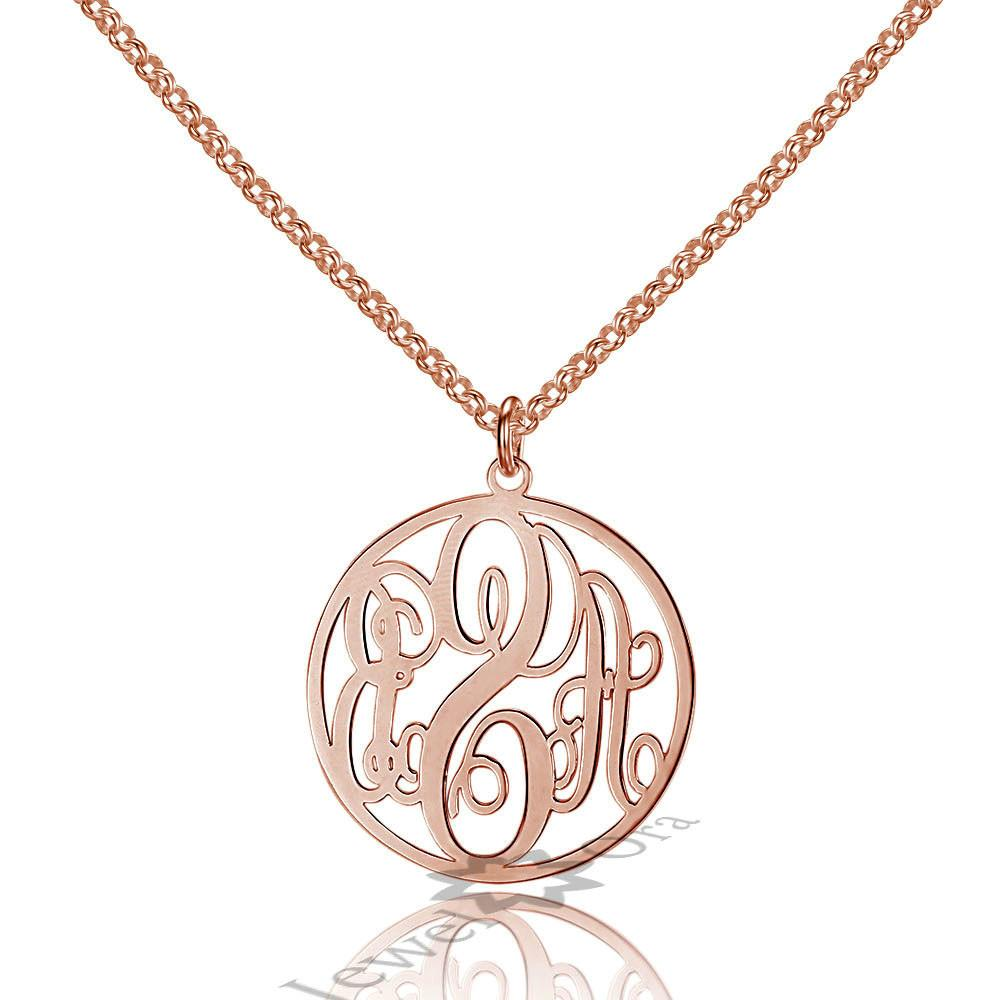 Buy Wholesale Monogram Necklaces Silver China