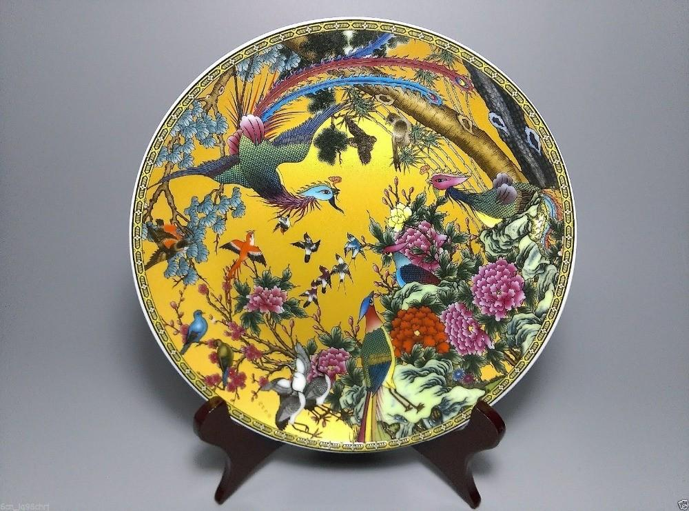 Buy Wholesale Peacock Plate China