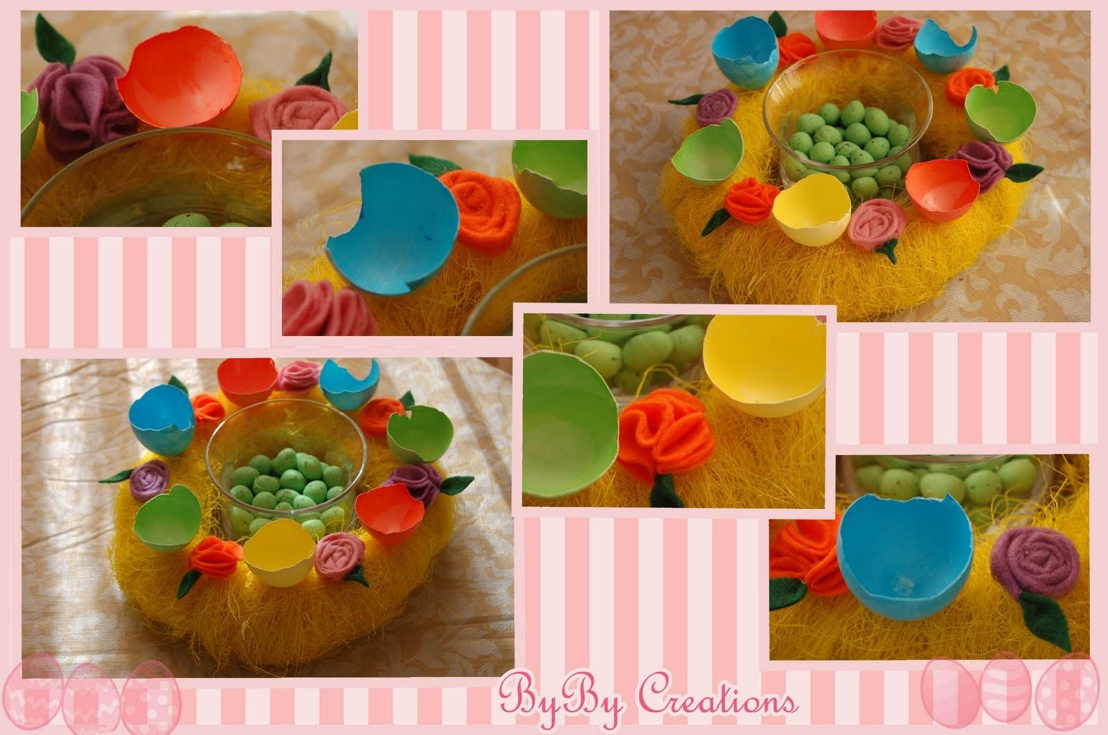 Byby Kingdom Another Colorful Easter Decoration Table