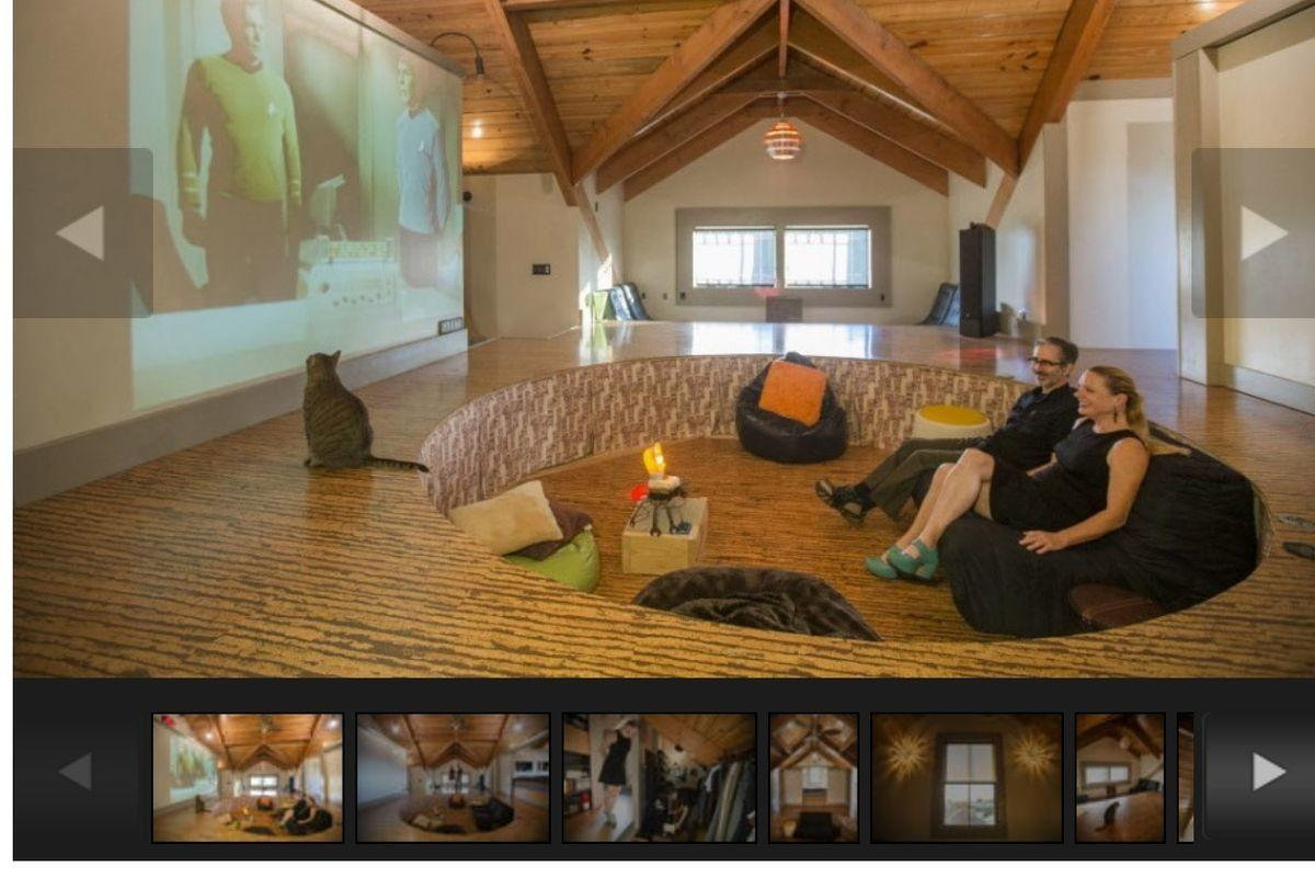 Bywater Couple Has Conversation Pit Sleeping