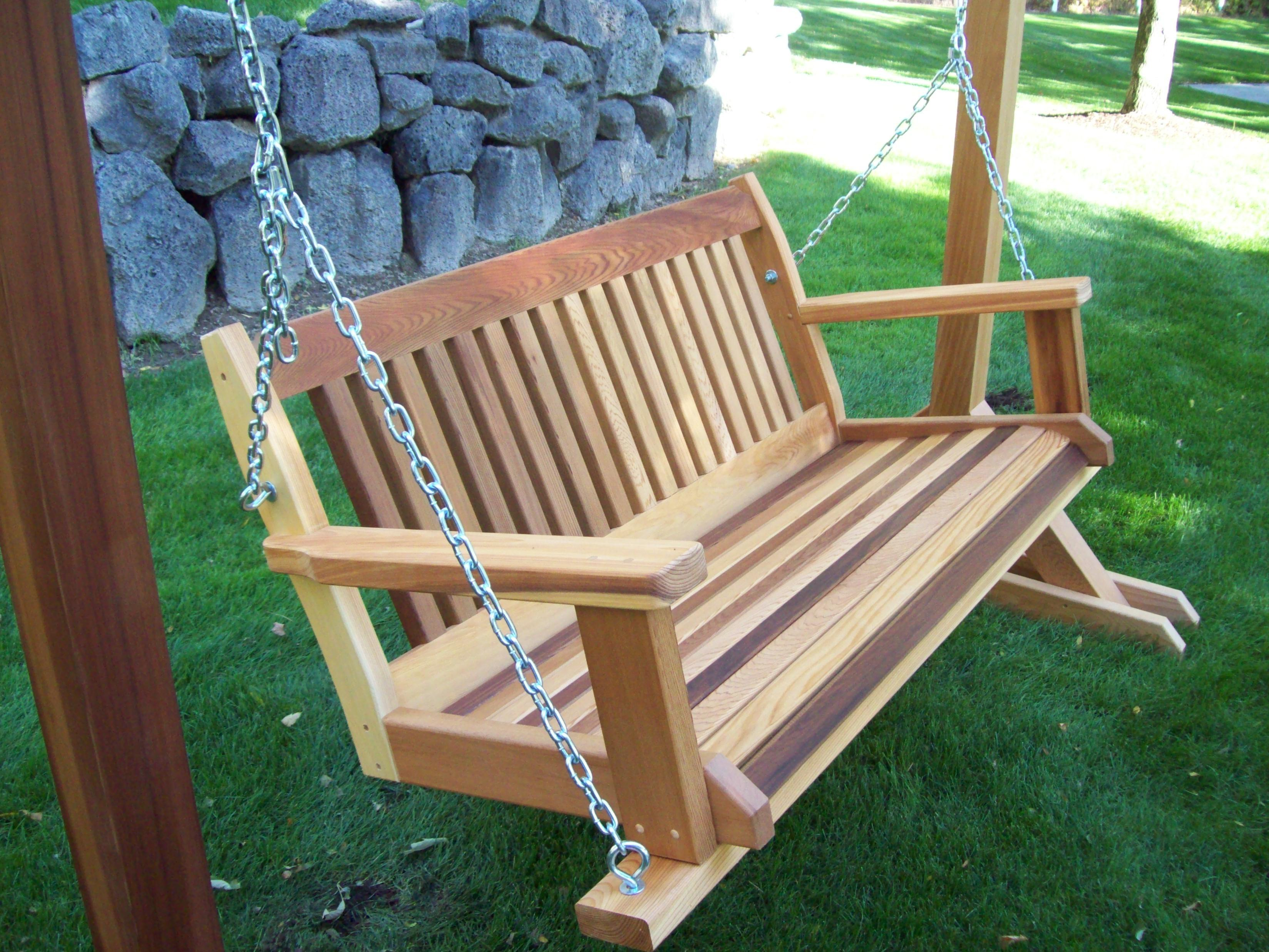 Cabbage Hill Porch Swing