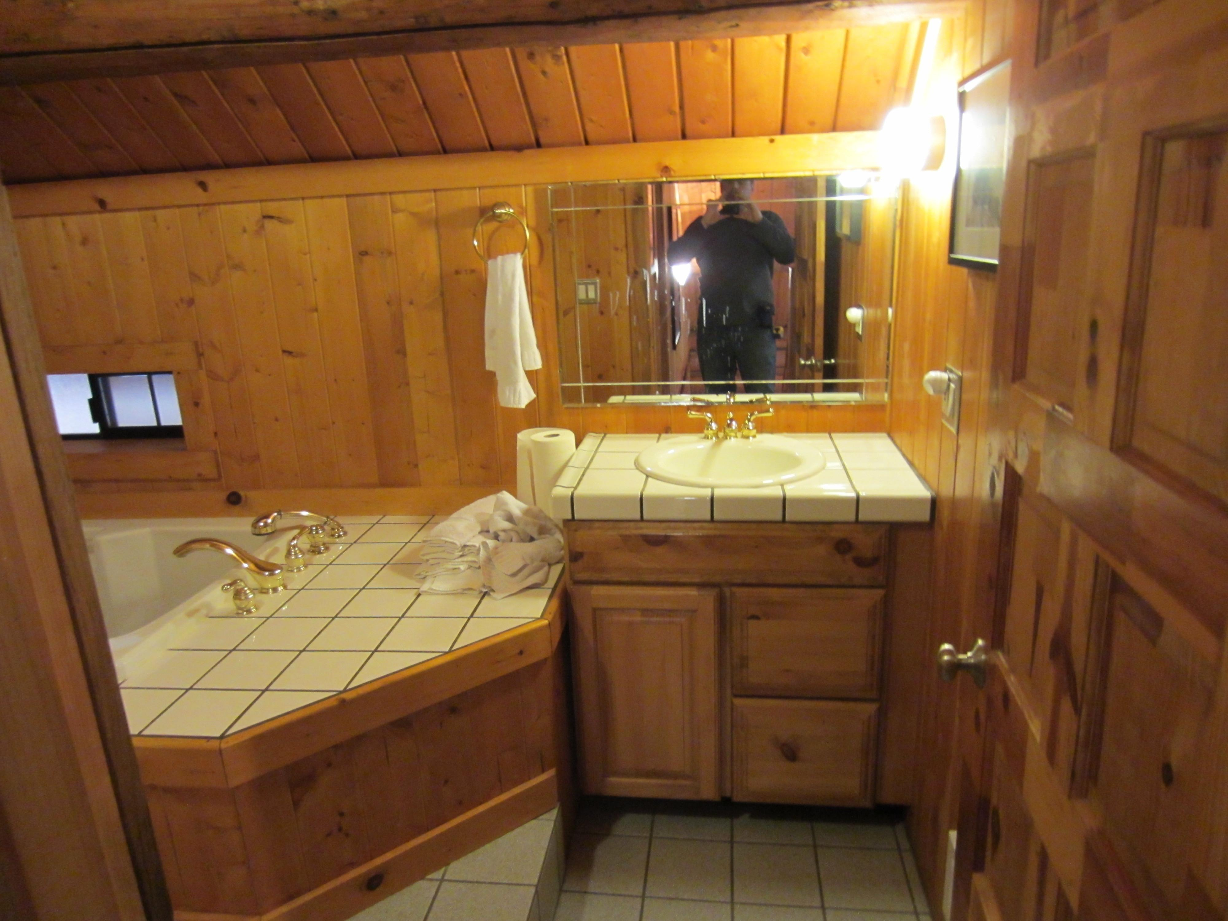 Cabin Style Bathrooms House Plans