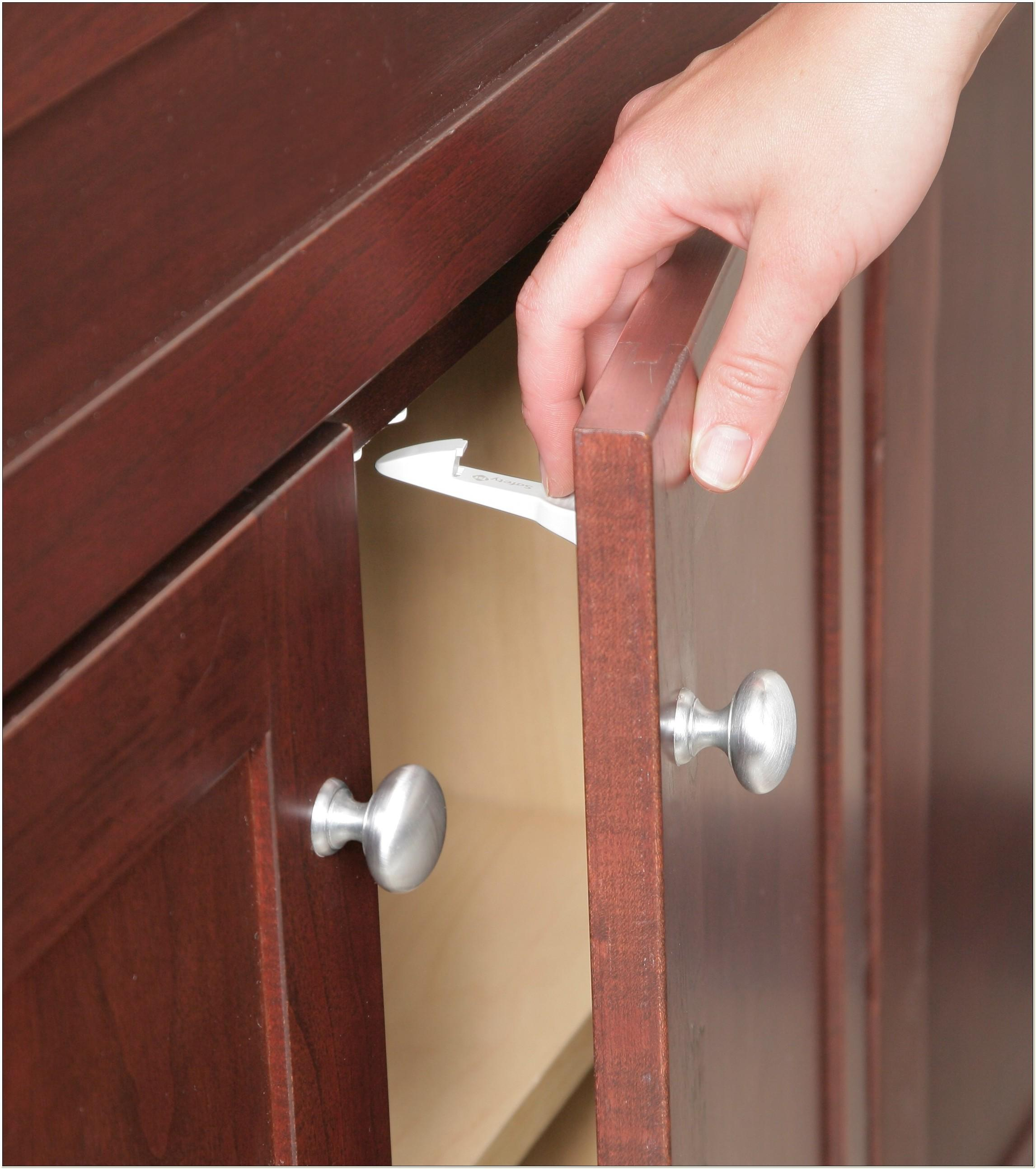 Cabinet Latches Baby Proof Home Design Ideas