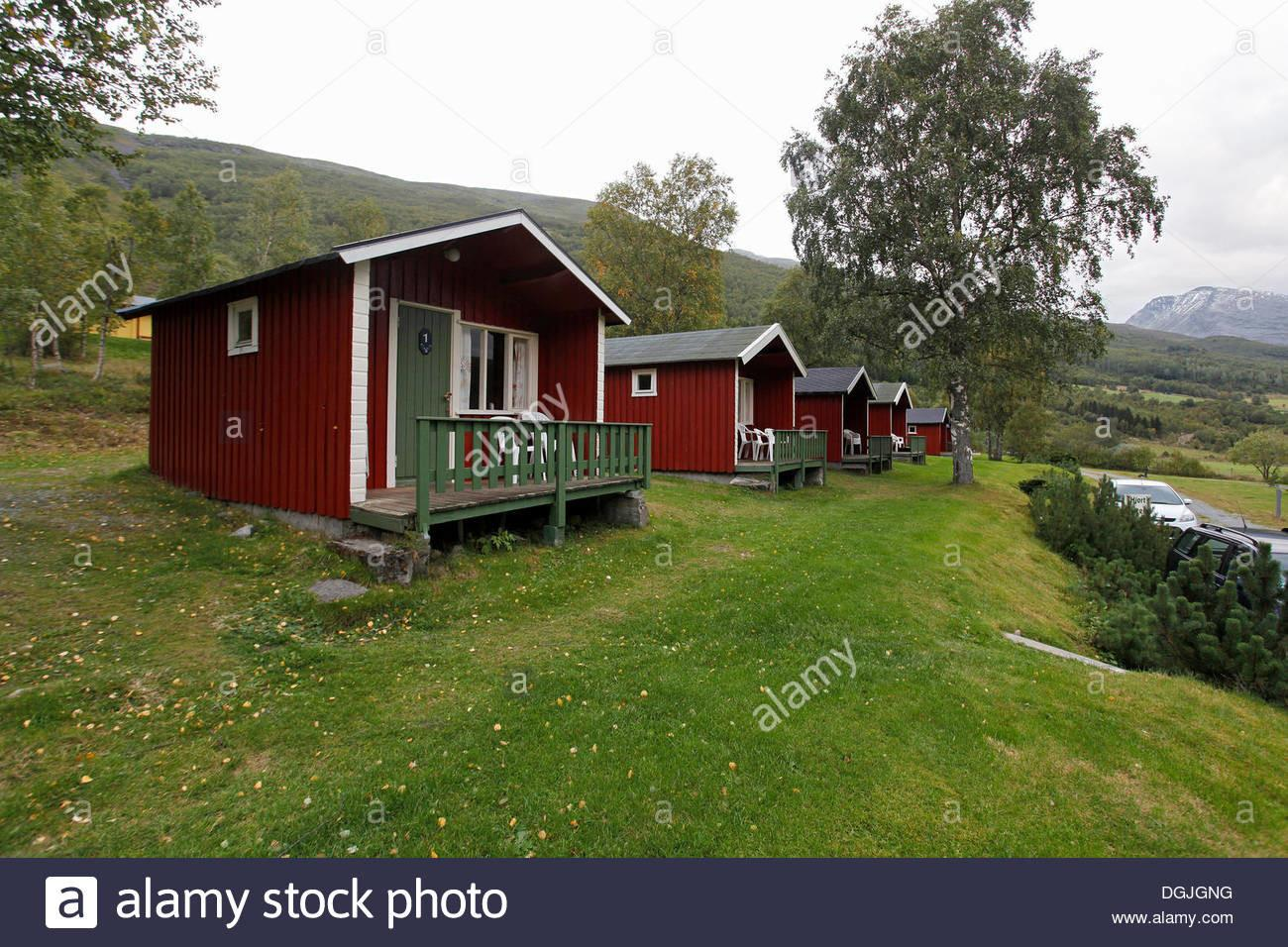 Cabins Camping Near Geiranger Fjord