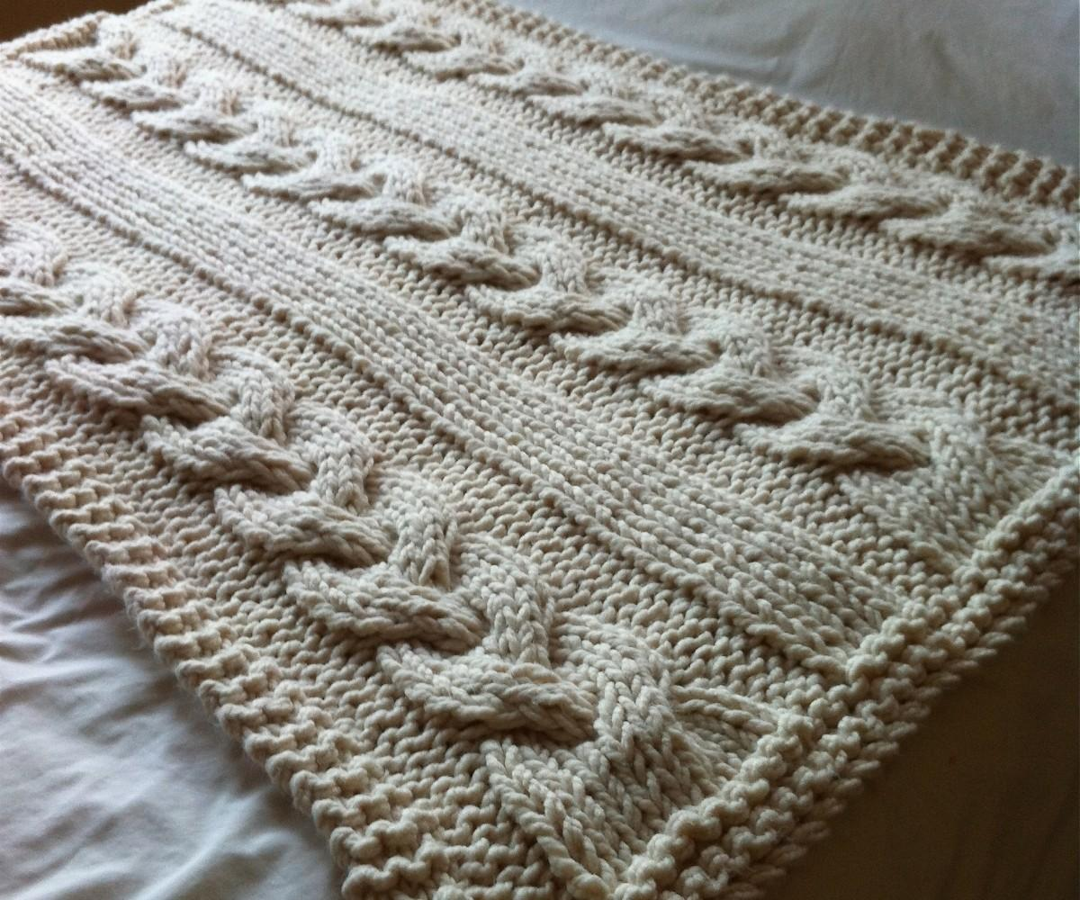 Cable Knit Blanket Lovable Pillow Cover